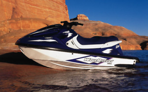1999 Yamaha wave runner 1200 with cantilever pwc lift.  Midland