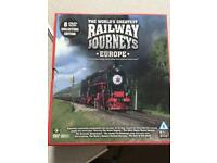 Worlds greatest railway journeys DVD set
