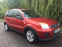 FORD FUSION 1.4 ZETEC LOW MILEAGE FULL MOT FULL SERVICE HISTORY IMMACULATE
