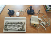 Amiga 600 Vintage Computer - Mint Clean Condition - Leads, Power Pack, Joysticks & Mouse & Games