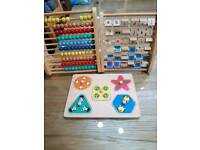 ELC jigsaw and abacus set