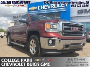 2014 GMC Sierra 1500 SLT  Cooled seats, NAV, HEATED STEERING WHE
