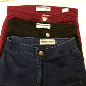 American Apparel Easy Jeans (Size: XS) High waisted