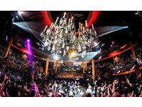 Nightclub Proactive Sales and Reservations Executive for this iconic central London venue