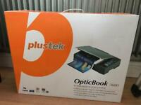 Plustek OpticBook 3600 scanner (missing power cord)