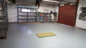 Warehouse space in country setting