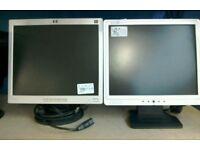 """Computer monitor 17"""" #20305 £10 #25858 £10"""