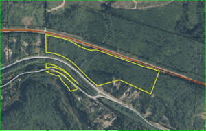 20+/- ACRES CLOSE TO LAKE COWICHAN (SOME RIVERFRONT) - Lot 1 COW