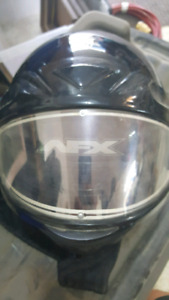 AFX Full Face snowmobile helmet with electric lens