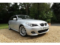 2006 BMW 523i M Sport Touring 2.5 AUTOMATIC FSH 2 OWNERS ESTATE PRACTICAL FAMILY