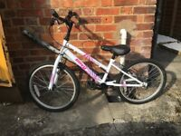 "Girls 18"" bike"