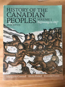 Textbook about History of Canada's First Peoples