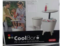 brand new keter cool bar table
