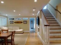 Renovations and Finishing. Remodelling / Full House / Basements