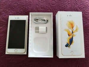 FOR SALE: Gold iPhone 6S Plus - 64Gb