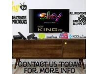 IPTV BOXES 2300+ CHANNELS HD + BOX OFFICE & VOD MOVIE'S £100 BOX AND 1 YEAR