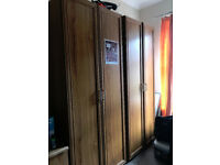 Wardrobes x 2 - 75cm Wide and Chest of Drawers