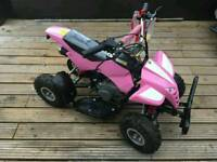 Girls pink 50cc petrol quad bike 2015 model