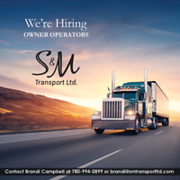 Owner Operators to run Canada and US