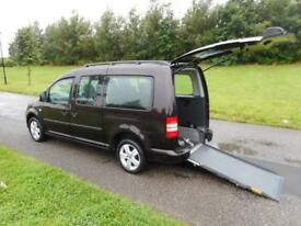 2012 Volkswagen Caddy Maxi Life 1.6 Tdi WHEELCHAIR DISABLED ACCESSIBLE VEHICLE