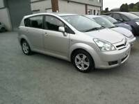 06 Toyota VersoT3 7 Seater Moted 29/01/18 clean car great driver (can be viewed anytime)