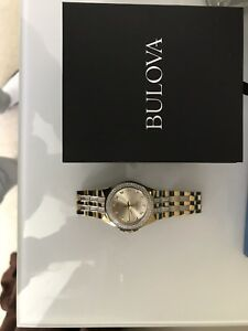 BULOVA MENS CRYSTAL WATCH FOR SALE FOR $300