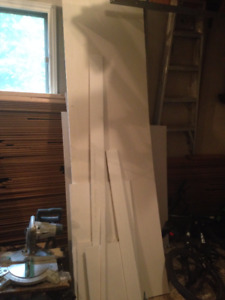 Drywall pieces