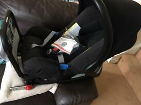 New Britax car seat and isofix base