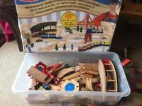Melissa and Doug Wooden Trainset