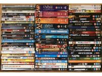 Job lot of 69 DVD's plus 4 box sets.
