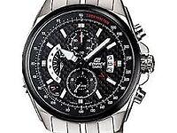 BRAND NEW (bOXED) Casio Edifice Chronograph Quartz Carbon 5225 Big Size 45mm Mens Watch