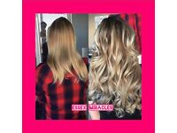 Nano and Micro ring hair extensions- 18 months lifespan!- super soft virgin hair