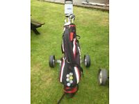Golf Clubs and Caddy - two sets Martham