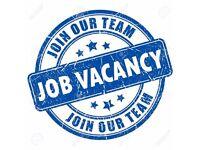 Job Vacancy Immediate Start