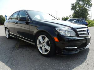 2011 MERCEDES C300 AWD LANDED !CALL NOW !