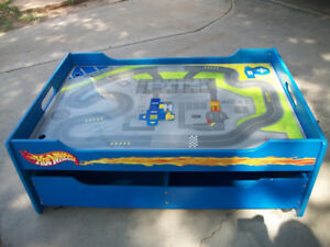 Collectible Hot Wheels Table