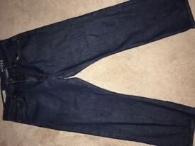 Worn. Gap jeans 36x30