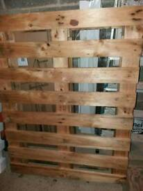 Large wooden pallet Free