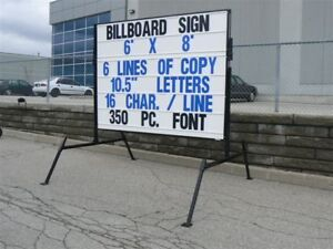 Mobile, portable signs,Letters ,Advertising Business opportunity