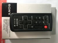 Genuine Sony Wireless Remote Commander RMT-DSLR2 in box with instructions