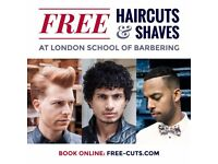 ****************BOOK YOUR FREE HAIR CUT & SHAVE NOW*******************