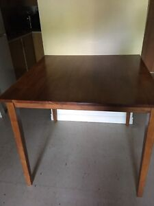 Pub-Style Dining Room Table and 3 Chairs
