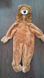 Full Lion Suit Kids Costume 2T