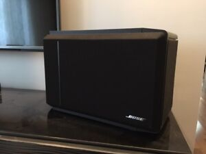 2  Speakers Bose 301 series IV - bookshelf