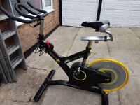 M. Sport Plus Commercial Indoor Cycle/Exercise bike by GymGear. For Home or Commercial use.