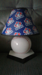 Blue jays lamp