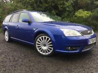 *STUNNING*2005(05)FORD MONDEO 2.2 ST TDCI(155BHP)ESTATE WITH HALF LEATHER*
