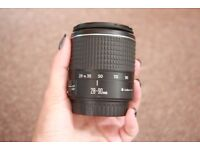 CANON photo lens 28-90 mm f. 4-5.6 damaged but working