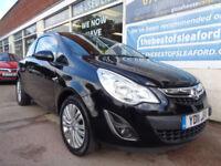 Vauxhall Corsa 1.0i 12v ( 65ps ) ecoFLEX 2011 Excite F/S/H £30 road tax