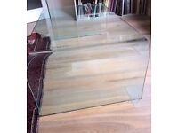 Glass Coffee Table - Italian/ Linge Roset - Excellent Condition